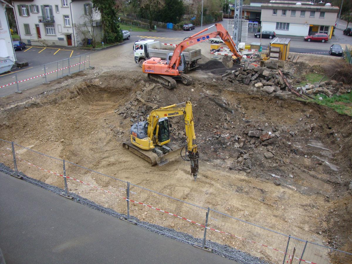 Aerztehaus-balsthal-Bauphase-1
