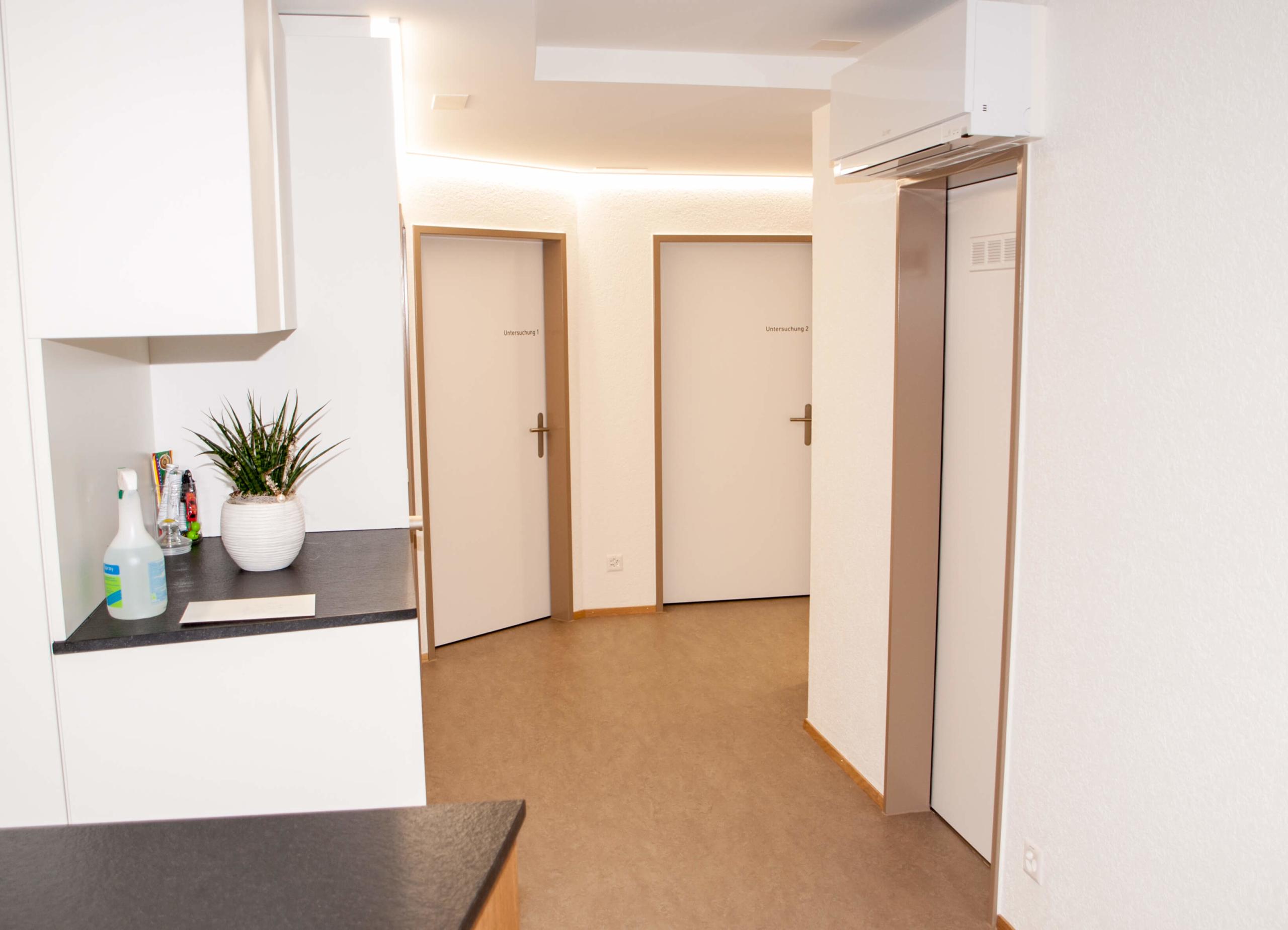 Aerztehaus-Welschenrohr-Untersuchungsbereich